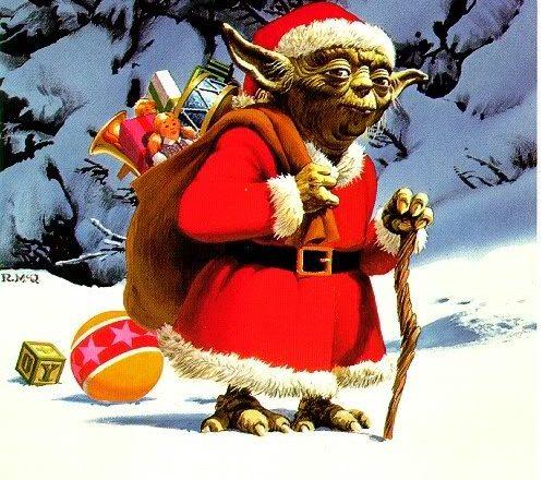 Navidad ser joven padawan