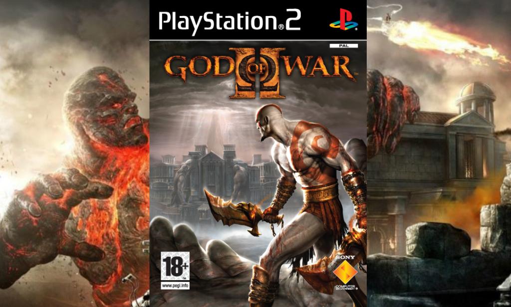 Portada del videojuego God of War 2