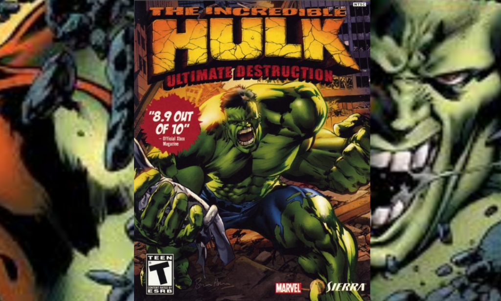 Portada del videojuego Hulk Ultimate destruction
