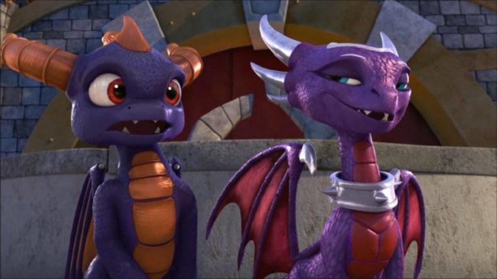 Imagen del videojuego Spyro the Dragon