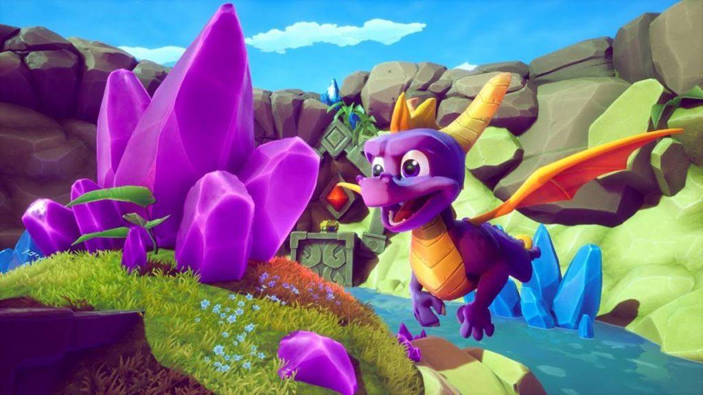 Imagen del videojuego Spyro Reignited Trilogy