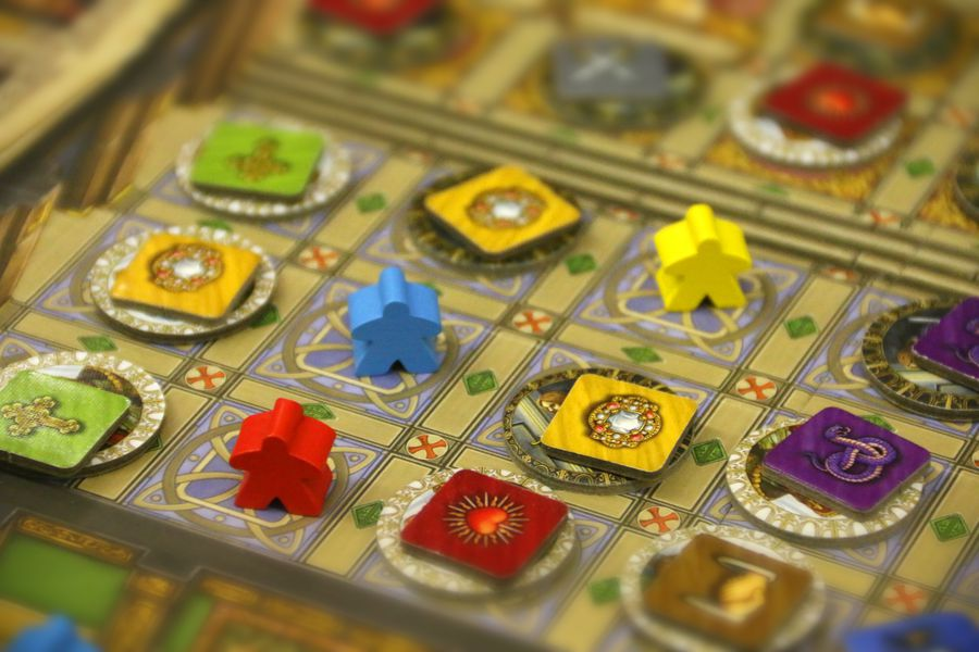 Imagen del juego de mesa Tudor