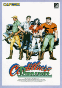 Portada del videojuego Cadillacs & Dunosaurs