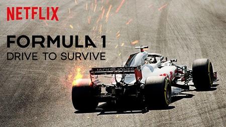 Imagen promocional de Formula 1 Drive to survive en Netflix