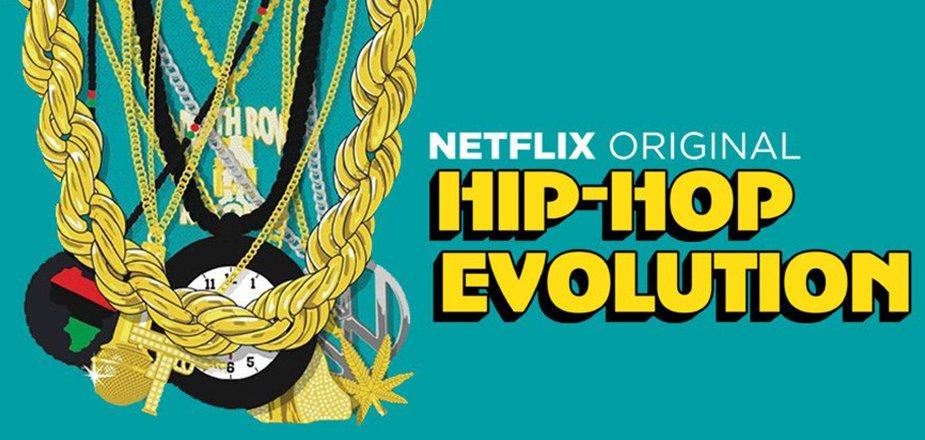 Imagen promocional del documental Hip-Hop Evolution