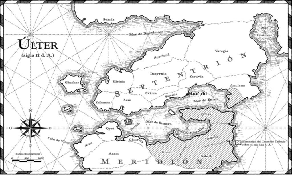 Mapa de Últer