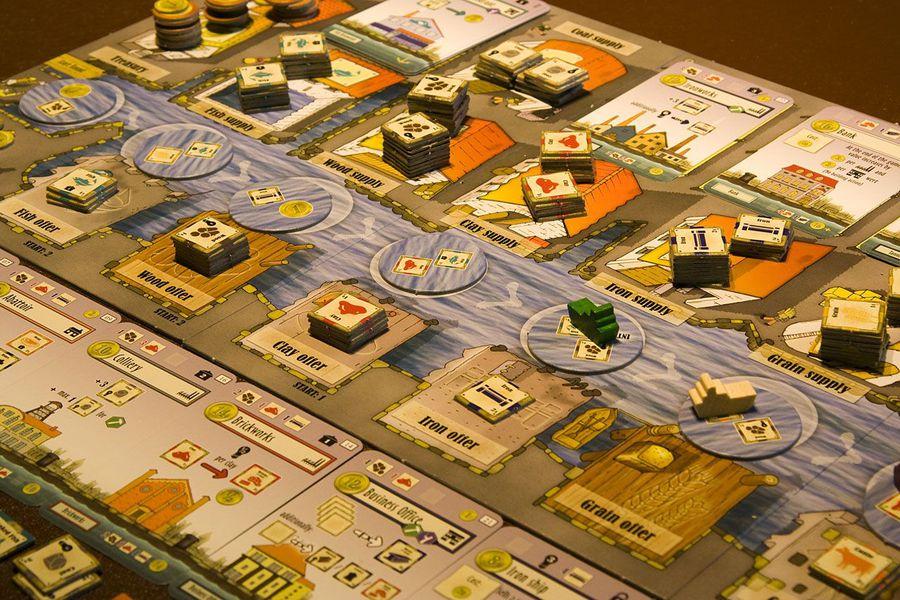 Imagen del juego de mesa Le Havre