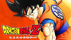 Imagen de la portada de Dragon Ball Z Kakarot con Goku en primer plano
